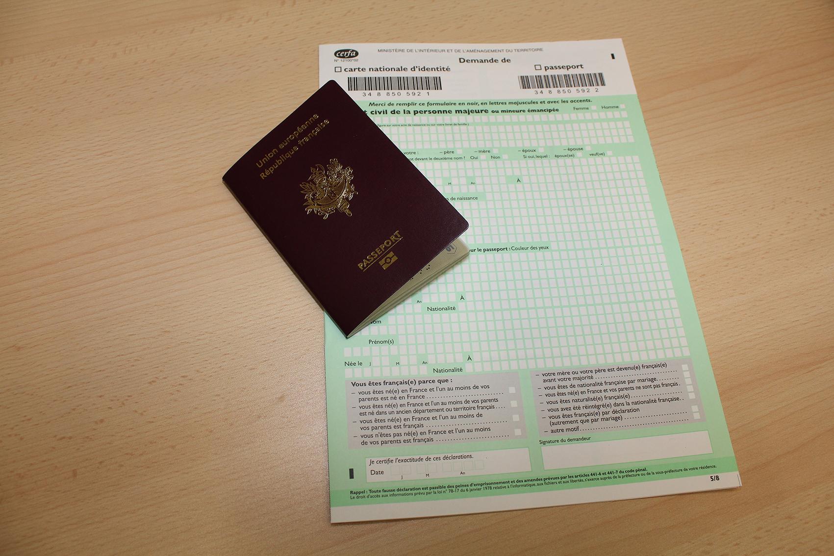 Passeport biométrique et carte nationale d identité ville de sens