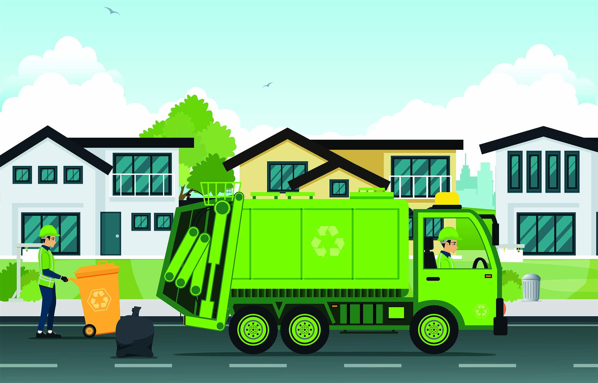 camion de collectes