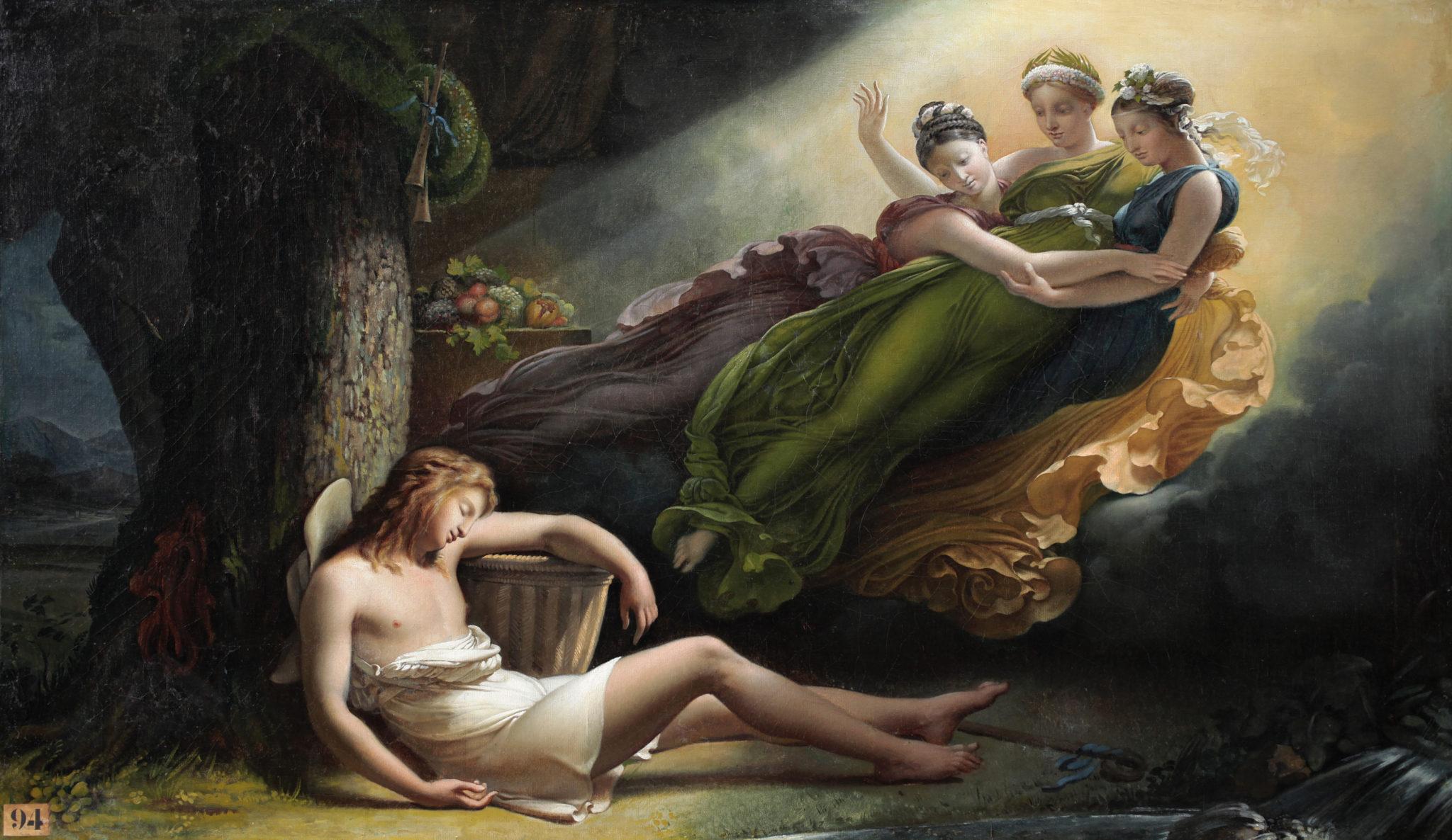 Les-grâces-visitent-Daphnis-Hersent