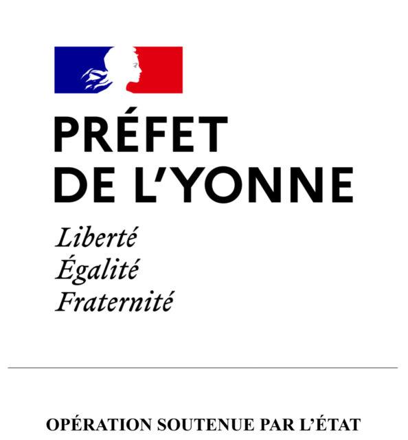 logo préfet de l'Yonne