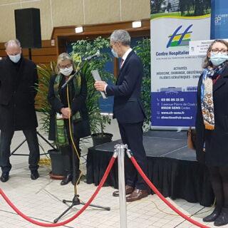 inauguration centre de vaccination