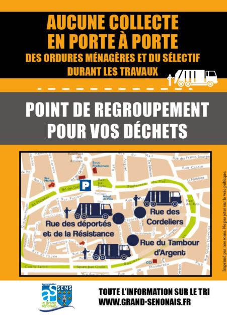 collecte travaux rue des déportés