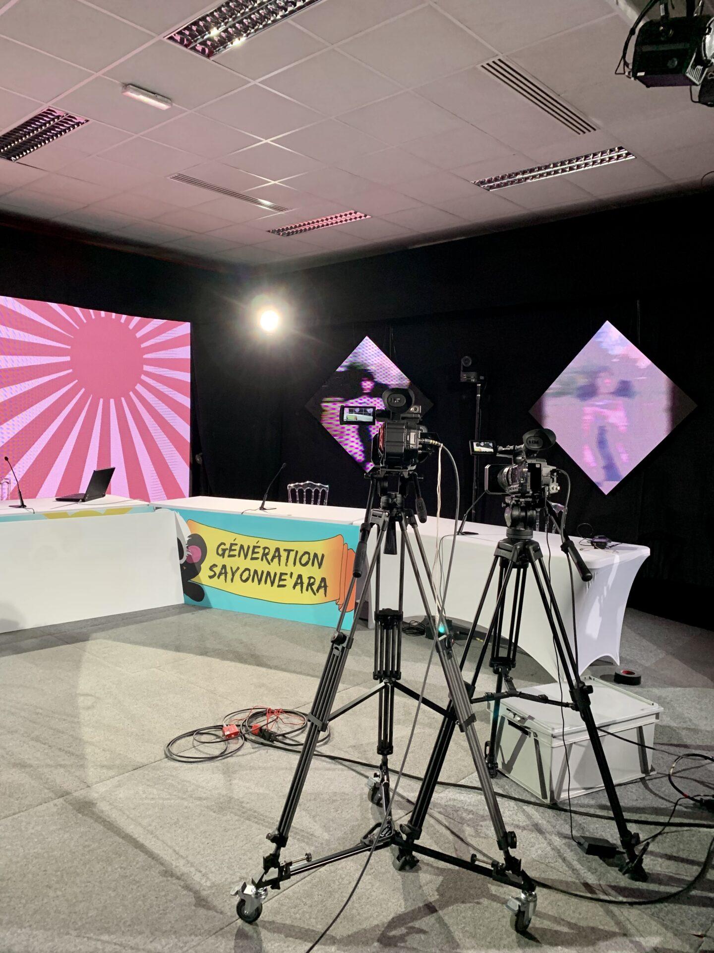 plateau émission live sayonne'ara 2021