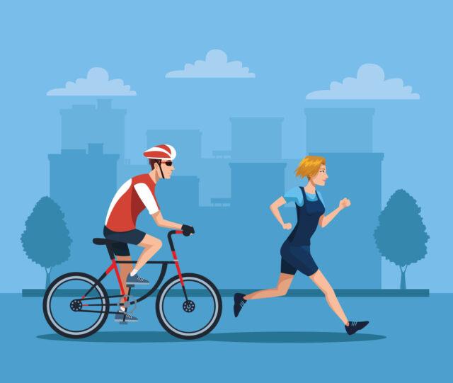 bike & run Sens